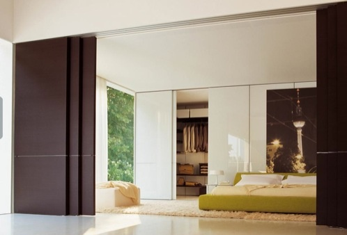 GLIDE: paneles deslizantes con estilo, de Molteni