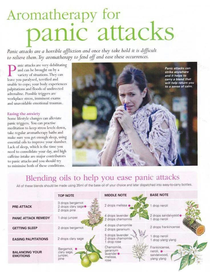 Aromatherapy for panic attacks