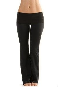 How To Sew Yoga Pants Perfect For Your Measurements with regular sewing machine!