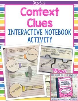 Happy Sunday! Here are some fab freebies to help teach context clues. Start with this FREE interactive notebook activity from my store. And follow up with this free practice and assessment that align directly with the interactive notebook activity. If you're looking for something more challenging, OR if you just want to differentiate in your …
