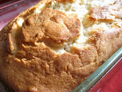 Cream Cheese Banana Bread - according to the website, it's used for children who need to gain weight.