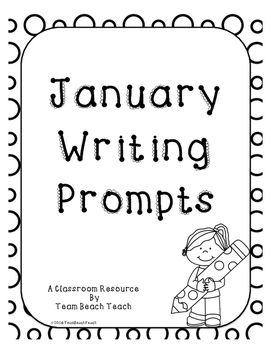 writing prompts for january What better time to start new handwriting theme than with the monthi want my children to spend more time working on their writing skills finding a way to get them writing is hardthey want to write without their work being picked apart.