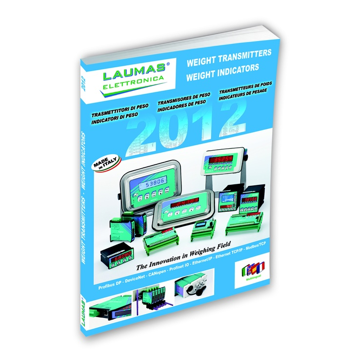 New catalogue Weight Transmitters-Weight Indicators 2012