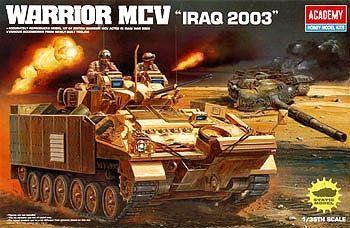 Academy Warrior MCV Iraq 2003, 1:35 scale   Hobbies