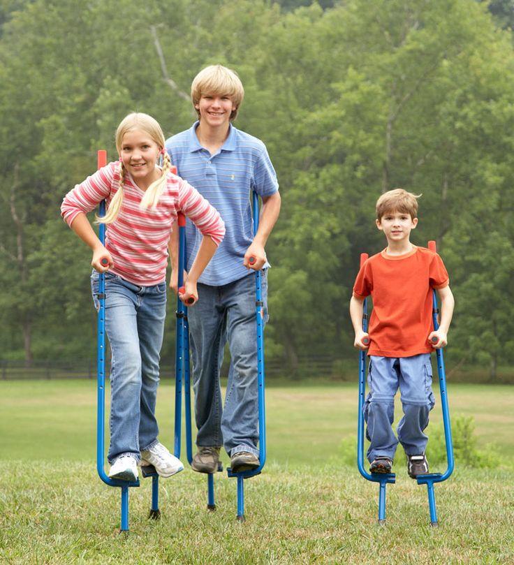 Super Fun Adjustable Stilts... ★-MY SON HAS A PAIR OF ...