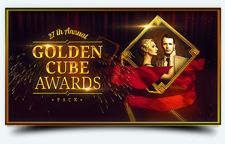Golden Cube - Awards Pack - Project for After Effects (Videohive)
