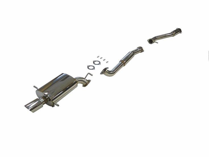 OBX Catback Exhaust System For 1993 To 2007 Subaru Impreza WRX STI Forester GDB  #OBXRacingSports