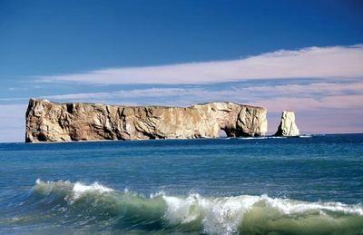 rocher perçé en Gaspésie