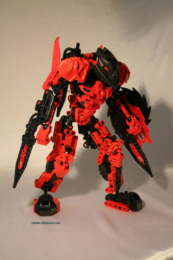Bionicle MOC: Makuta Teridax by Rahiden on deviantART