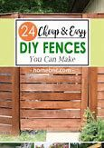 Image result for Rustic Fence Design