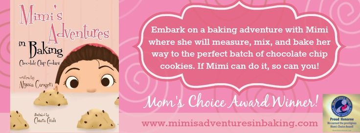 Embark on a baking adventure with Mimi where she will measure, mix and bake her way to the perfect batch of chocolate chip cookies!