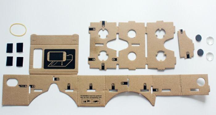 so kann jeder von uns vr brille aus pappe selber bauen   eine anleitung und ein gelbes gummiband