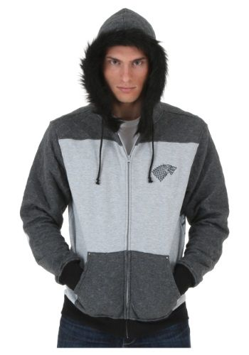 #GOT Game of Thrones Stark Winterfell Hoodie. Check it out now @HalloweenCostumes! #Promotion.