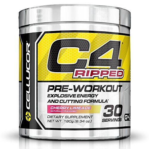 Cellucor C4 Ripped Preworkout Thermogenic Fat Burner Powder, Preworkout Energy, Weight Loss, 180 g (6.34 oz) , 30 Servings, Cherry Limeade - http://darrenblogs.com/2016/03/cellucor-c4-ripped-preworkout-thermogenic-fat-burner-powder-preworkout-energy-weight-loss-180-g-6-34-oz-30-servings-cherry-limeade/