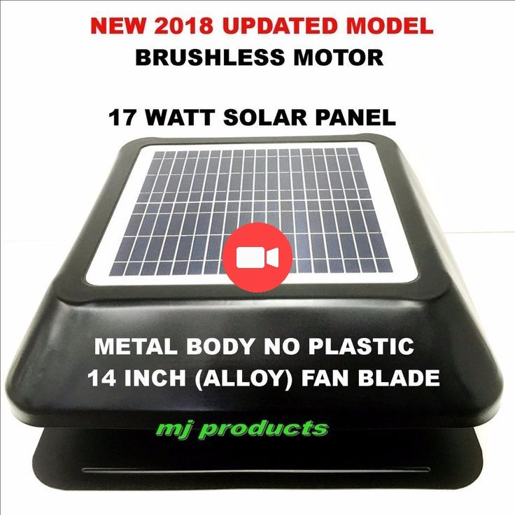 Details About Solar Roof Vent Exhaust Fan Ventilator Extractor Ventilation 17 Watt Solar Pane Ventilation Fan Solar Roof Vents Exhaust Vent