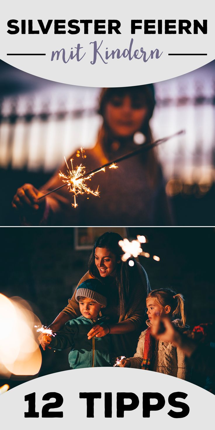 Silvester mit Kindern: Unsere Party-Tipps I iStock