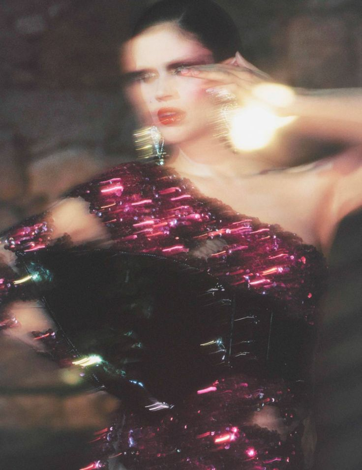 Rose Insolence by David SIms for Vogue Paris August 2016 - Moschino