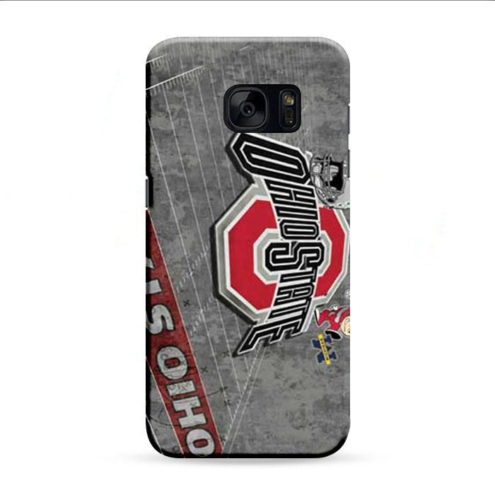 Ohio State Wallpaper Greys Samsung Galaxy S7 Edge 3D Case