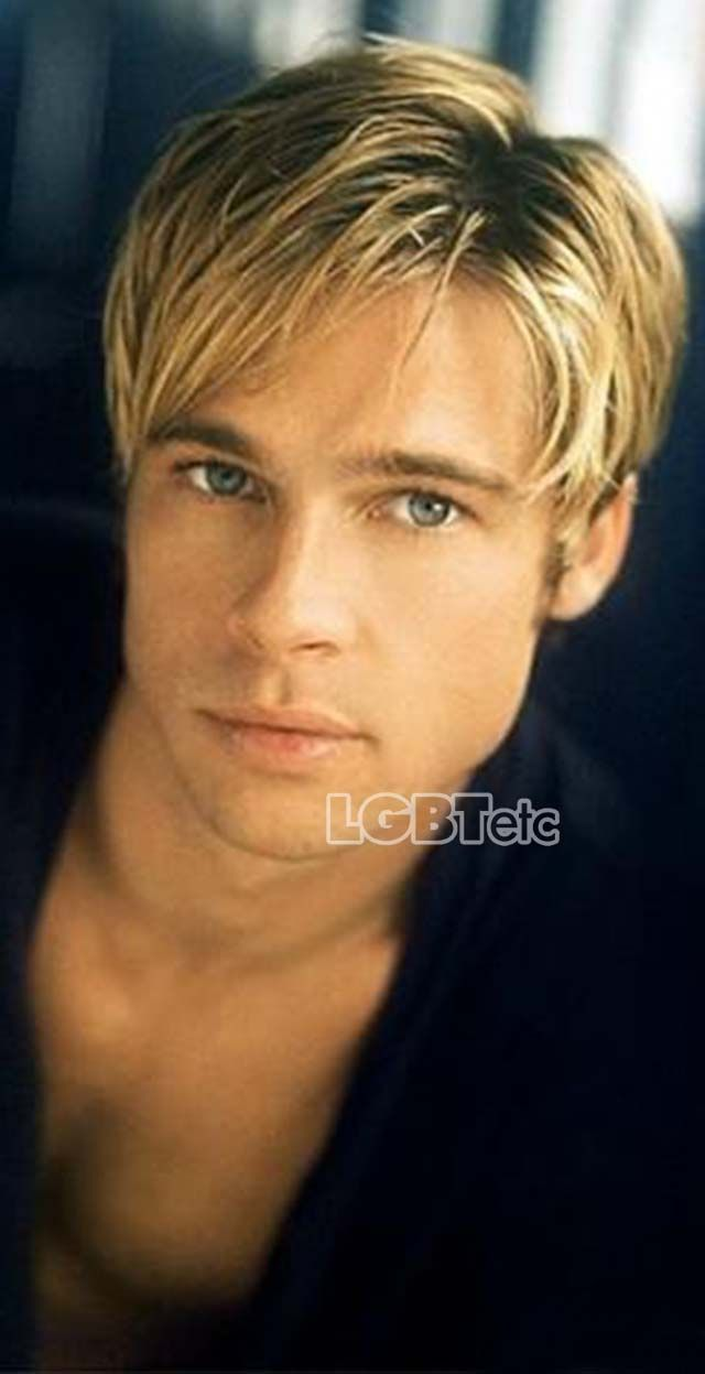 Brad Pitt, young and adorbz