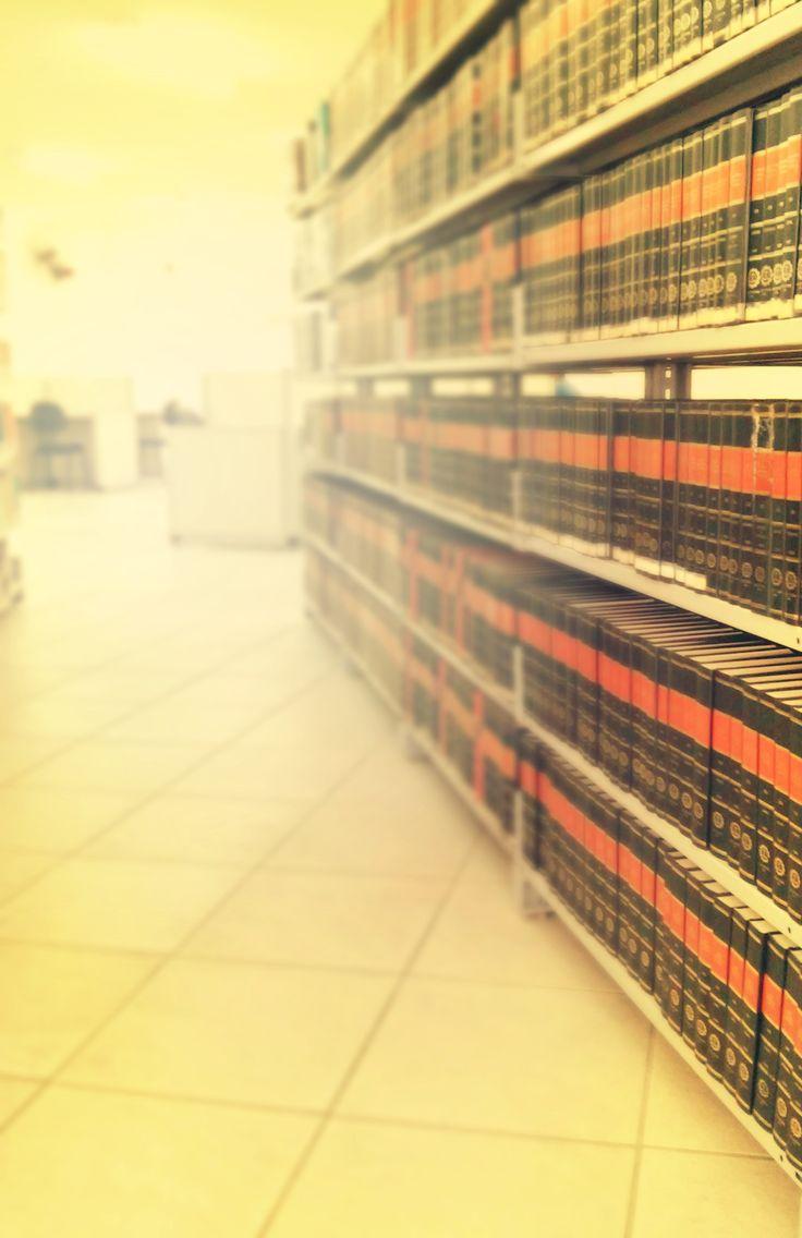 """Cara"" de biblioteca jurídica"