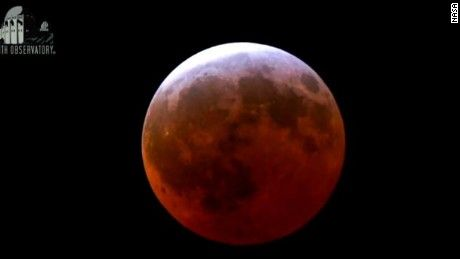 The third blood moon in a four-part series was the shortest eclipse of the bunch, but still a sweet treat for early risers in North America.
