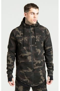 SikSilk - Poly Tricot Interlock Hoodie - Camo | You know you can rely on Sik Silk for the best urban styles. We love this camo hoodie to really make your style stand out! Get yours now @ Urban Celebrity!