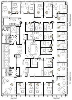 executive office suite floor plan - Google Search | Offices ...