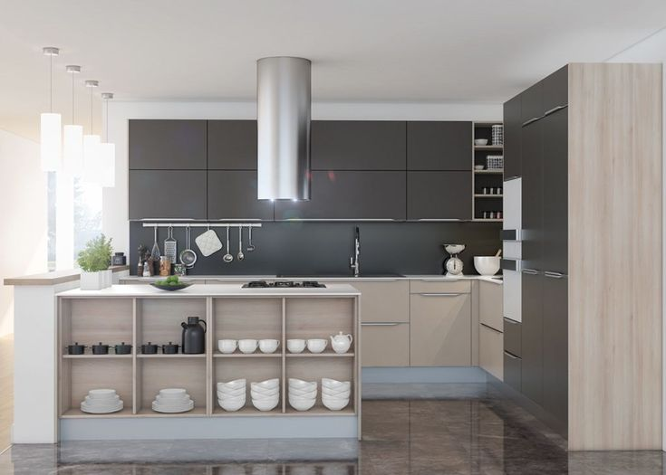 Forty Kitchens That Use Grey To Achieve Contemporary And Clic Designs Mixing With Teal Wood Concrete Marble S Many Shades Always Come In
