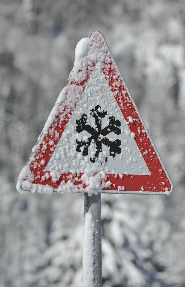 Snow sign Norway ...