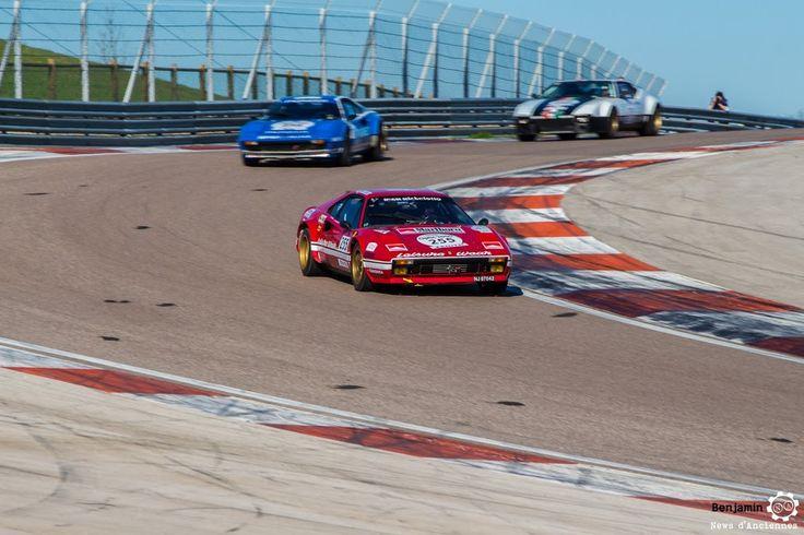 #Ferrari #308 Gr IV Michelotto sur le #TourAuto2016 à #Dijon_Prenois. Reportage : http://newsdanciennes.com/2016/04/20/tour-auto-2016de-passage-a-dijon-prenois-on-y-etait/ #ClassicCar #VoituresAnciennes #VintageCar #MoteuràSouvenirs