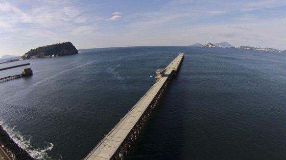 Il pontile di Bagnoli.