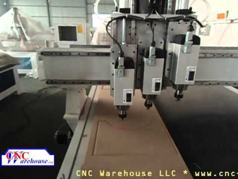 CNC Warehouse Three Shift Spindle Video