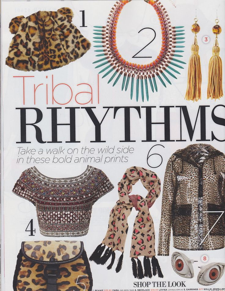OK Magazine: Our amazing Turquoise Spike Rope Collar Necklace
