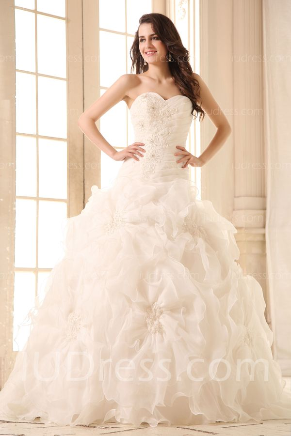 High Quality Sweetheart Princess Natural Wedding Dresses 2014 List Price 82500 26999