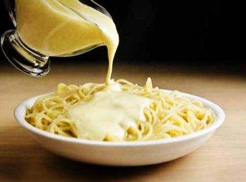 сырный соус с для спагетти