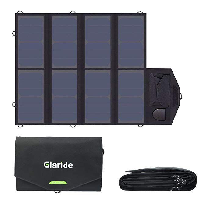 20W 12V//5V USB DC Solar Panel Battery Solar Powered 3A W// Car Phone Tab Chargers