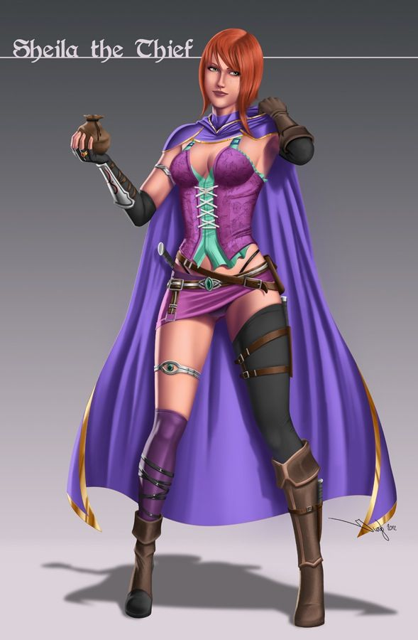 Dungeons and dragons -Sheila the thief