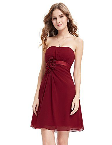 HE03538RD14, Red, 12US, Ever Pretty Party Dresses For Juniors 03538