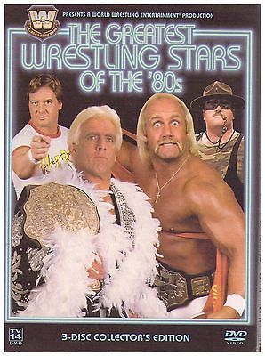 #Wwe/wwf the #greatest wrestling #stars of the '80s - 3 disc set hulk hogan ,  View more on the LINK: http://www.zeppy.io/product/gb/2/132014700740/