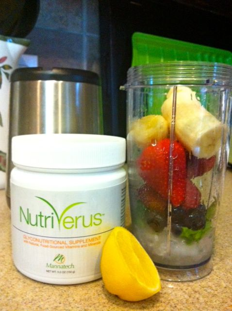 Berry Blast NutriVerus Smoothie