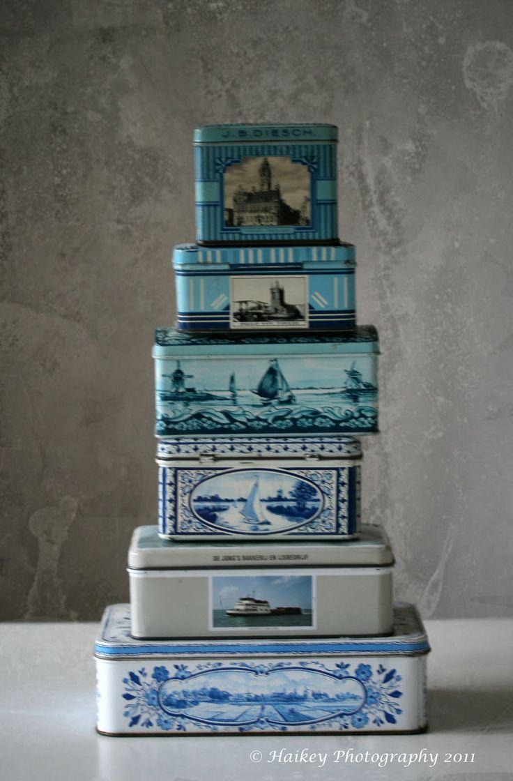 old Dutch tins