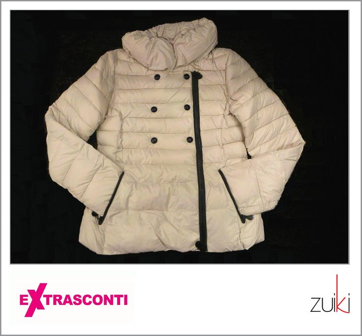 #Down #Anorak / #Piumino - Zuiki  #Original price: 89.99€ #Outlet #price: 59.99€ #EXTRASCONTI PRICE: 29.99€  Available at #Zuiki - #store number 84. Disponibili presso Zuiki - civico 84. http://www.palmanovaoutlet.it/it/outlet/negozi/zuiki