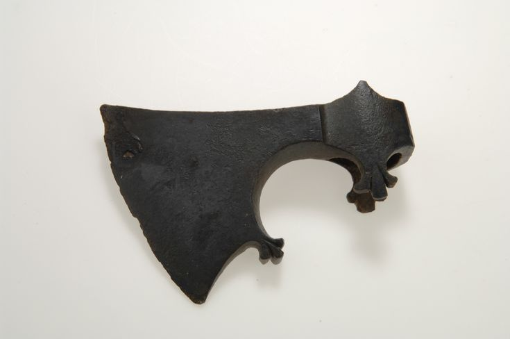 Axe head dound in Gotland, Viking age, Sweden. The shape of the axe head is made…