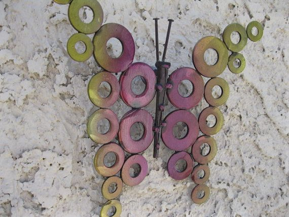 Metal art sculpture by Holly Lentz Abstract by onlyart76 on Etsy, $19.99