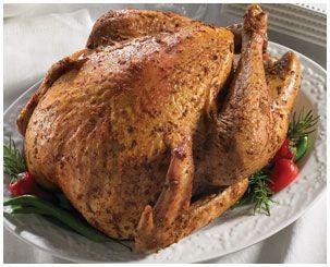MAIN COURSE:  The Whole Cajun Turkey from the Honey Baked Ham Company  #YumHolidayRecipes.  #holidayrecipes