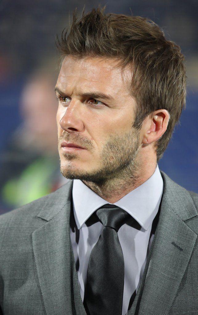 David Beckham Photos - David Beckham Watches the England vs. USA Soccer Match - Zimbio
