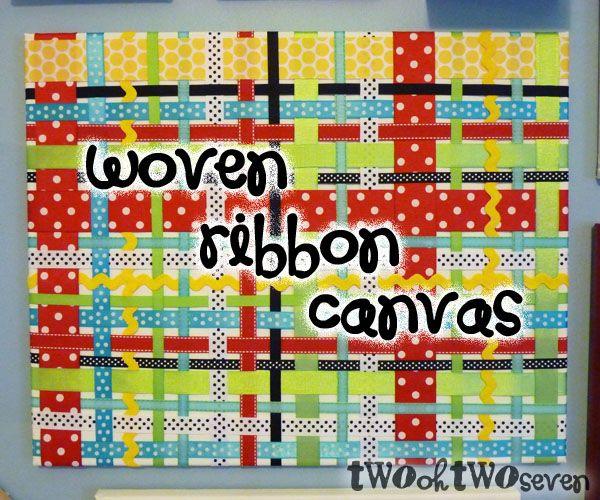 Awesome canvas idea!