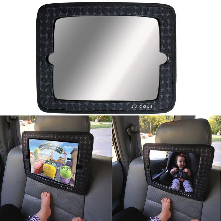 JJ Cole Baby Spiegel & iPad Halter Auto