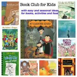 Easy ideas to start a book club for your kids with picture book suggestions and activities :: PragmaticMom
