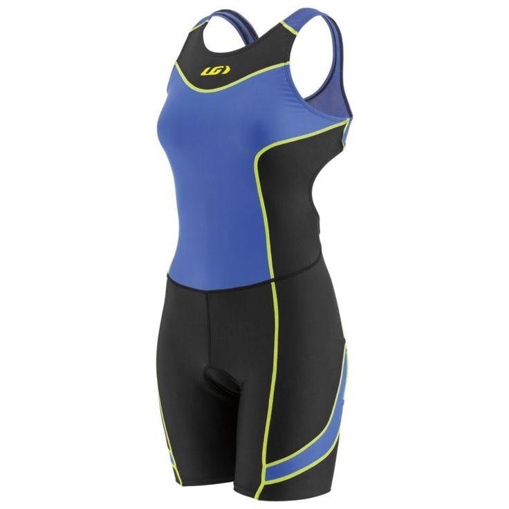 Louis Garneau Women's Comp Open-Back Triathlon Suit, Size: Medium, Black